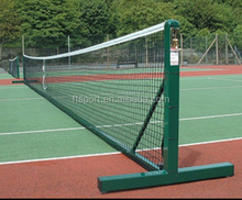 Freestanding round Tennis Posts For Single Or Doubles Tennis Nets