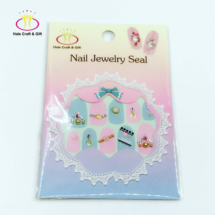 Nail Products Wholesale Different Fancy Design Opal Nailart 2017 Decoration Hollow Sticker