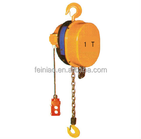DHS polished lift 3 ton/hand chain electri hoist from China