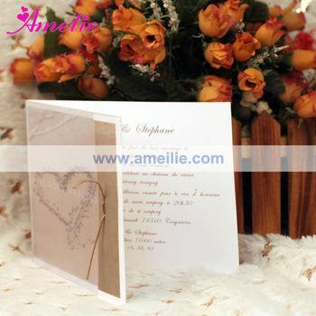 AEA130 Beach Theme Wedding Invitations Made In China