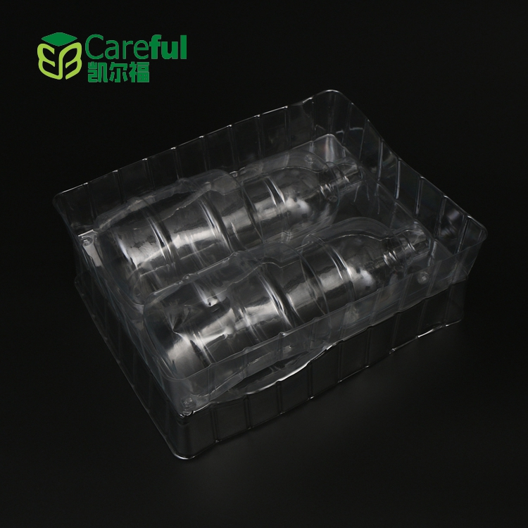 Cheap Wholesale Customized Blister Plastic PVC box Packaging for Spiral Light Bulb