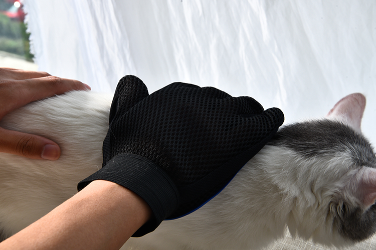 Speedypet Cat Dog Brush Massage Glove, Pet Dog Grooming Glove
