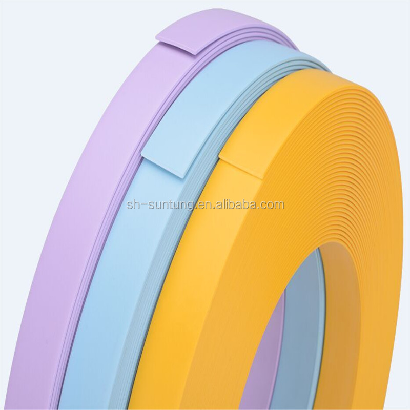 competitive price furniture decorative solid color pvc edge banding tape