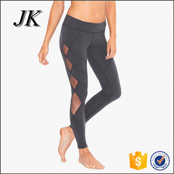 Wholesale women wear leggings mesh yoga pants