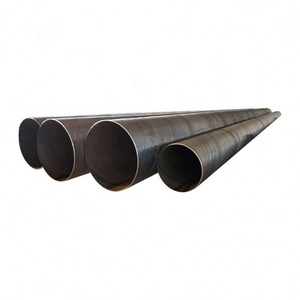 Factory Direct Sale Erw Spiral Welded Steel Pipe
