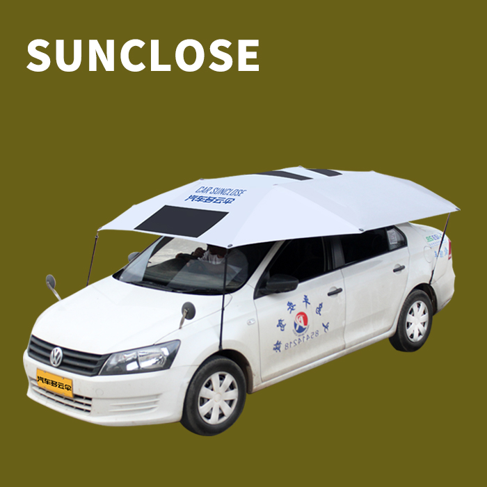 SUNCLOSE gemaakt in china schaduwdoek/carport schaduwdoek ice preventie hagel proof auto cover