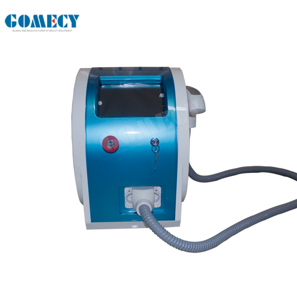 mini portable Q-switch laser/1064nm 532nm q switched nd yag laser tattoo removal and 1320nm facial carbon peeling with CE