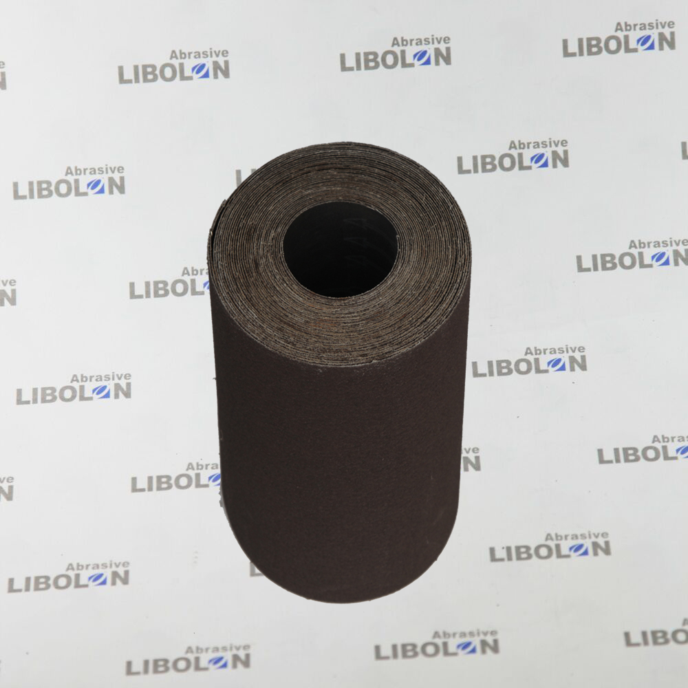 Manufacturers Supply Calcined Stiff Abrasive Cloth Rolls For Making Sand Belt