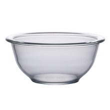 thickening big tempered glass salad falling glass bowl