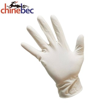 Disposable sterile latex gloves for surgical operation