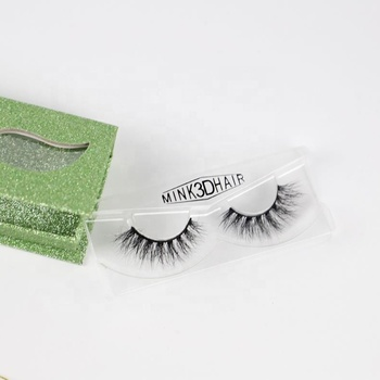 Real mink fur 3d mink lashes self adhesive eyelashes