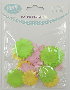 Scrapbooking Manufacturer Decorative Flowers Rose Paper Petals For Weddings And Crafts