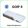 Goip 8 voip gateway well product and Low price auto imei change 8 port gsm gateway goip 8 for bulk international calls