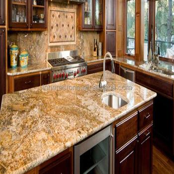 Yellow Imitation Granite Countertops For