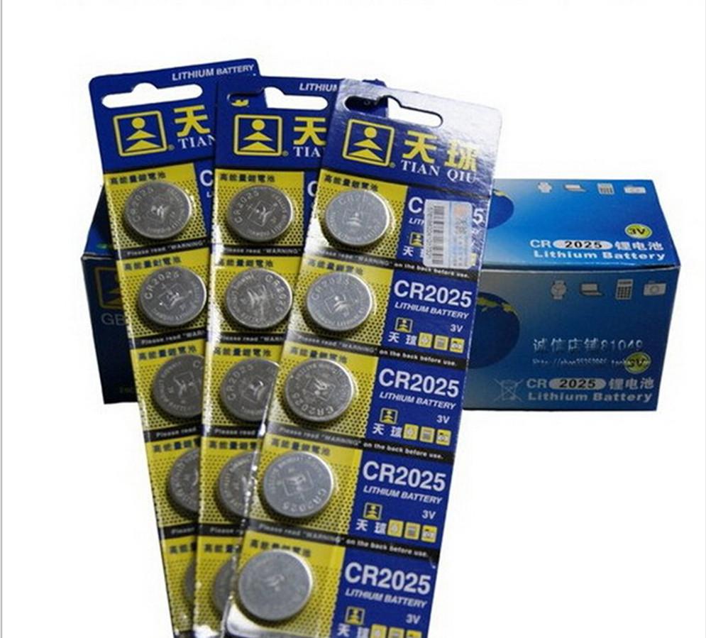 5 шт. 3 V LM2032 CR2032 монета сотовый пуговица высокая емкость литиевая батарея для игрушки дистанционного / часы