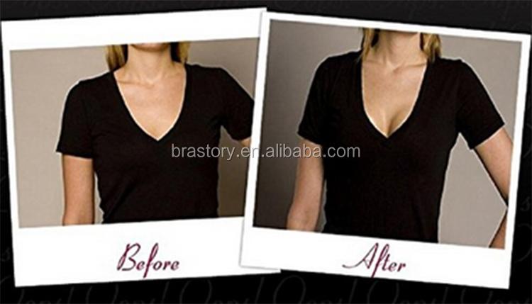 ヌード隆起ブラジャー挿入ビキニパディングシリコーン乳房エンハンサー、乳房バットリフターシェイパーシリコーン乳房