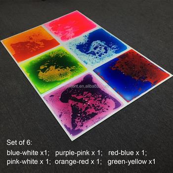 Multi Color Dynamic Liquid Flooring