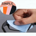 Wholesale screen lens wiping cloth lint free microfiber cleaning cloth for glasses