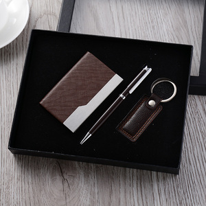 Hot Sell Key Chain,Card Holder,Pen 3in1Gift Set / Gift items / Gift premium