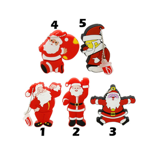 Christmas Cartoon Santa Claus usb flash drive Usb Sticks Pen drive For Christmas Gift
