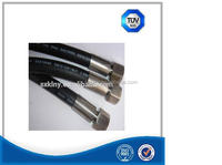 Heat resistant rubber diffuser tube