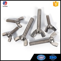 Corrosion Resistant Stainless Steel Wing Head Bolt