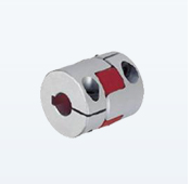Flange type spline shaft coupling