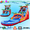 2016 new used inflatable tropical swimming pool slide for adults,cheap inflatable water slide for sale
