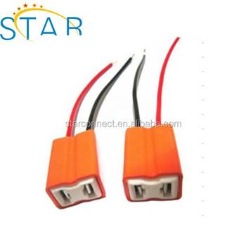 2 Pin H7 Socket Connector For Car Headlight Xenon Lamp Light H7 Led H Socket Wiring Diagram on