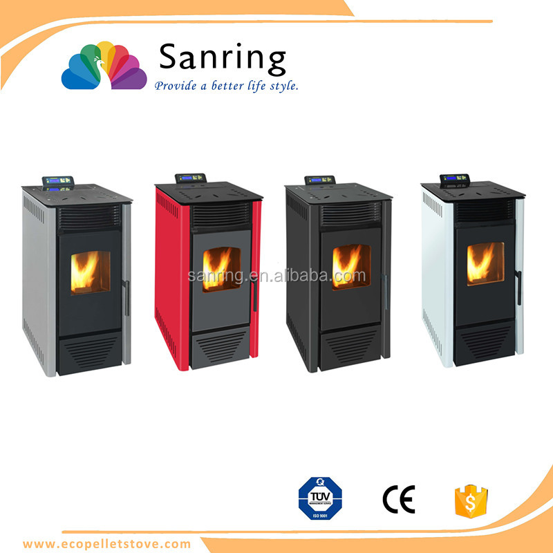 Cheap price 6 KW electric wood pellet stove from China