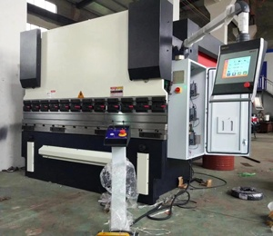 Cheap price 4 axis servo controlled CNC hydraulic press brake WC67K-63/2500 for sale
