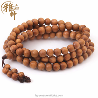 Popular Luxury Muslim Gifts Natural Wood Rosary Prayer Beads Bracelets