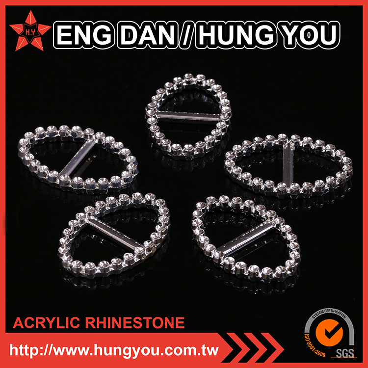 L2 hungyou Non Heavy Metal Large Oval Shiny Belt Buckle rhinestone hung you rhinestone shoe applique