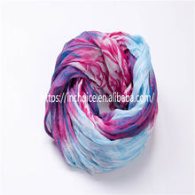 Sexy Women Beach Swimwear Mixed Color Painting Infinity Scarf Wrap