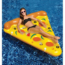 Pool popular toys inflatable pizza floating row floating bed