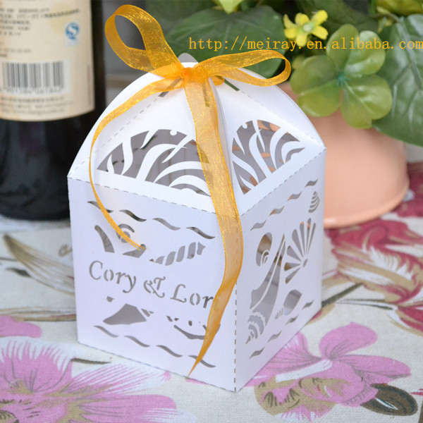 Beach Wedding Favors Shells Favor Box Supplies