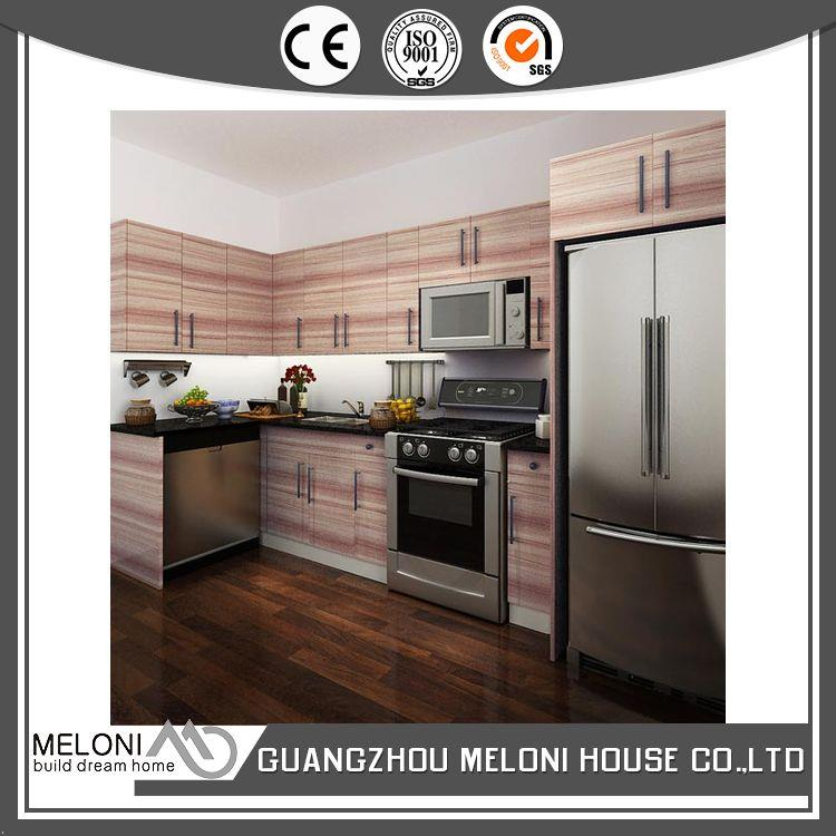 cheap price custom kitchen cabinet design melamine finish