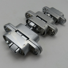 23*95mm Zinc Alloy 3D Adjustable 180 Degree Solid Casting Invisible Concealed Hinge for Wooden Open Door