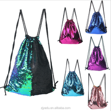 Funny Ladies Magic Bag Sequins Mermaid Backpack Bling Bling Fashion women High Quality Bags