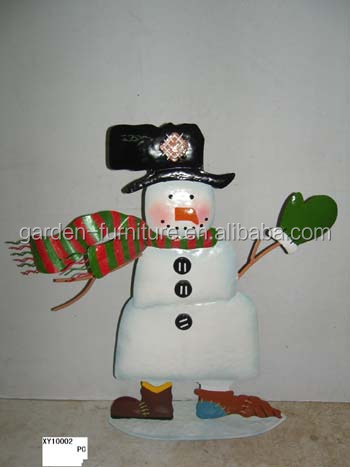 Handicraft Holiday Home Decor,Metal Snowman Figure,China Wrought ...