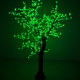 Led simulation artificial coconut tree outdoor led palm tree lights for