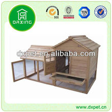Wooden Rabbit Hutch with Tray DXR025