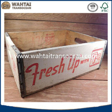 Vintage fresh up with 7up wood crate,soda advertisin,farmhouse decor,storage chic,primitive,