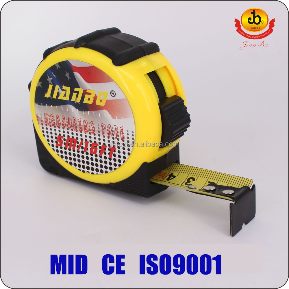 Bulk tape measures series 28-L1 co-molded utility knife from ningbo JIANBO with LED light industrial tools