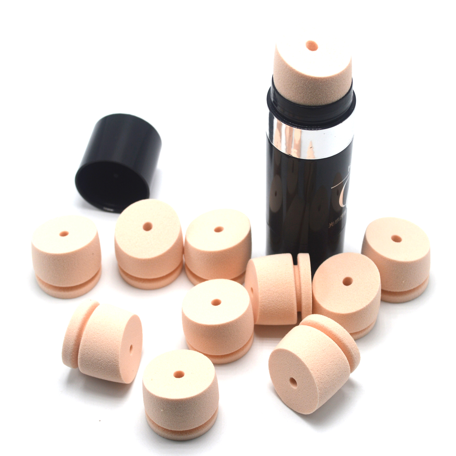 China Supplier Factory Wholesale Mini SBR Foundation Makeup Sponge Powder Puff For Daily Makeup Low Prices