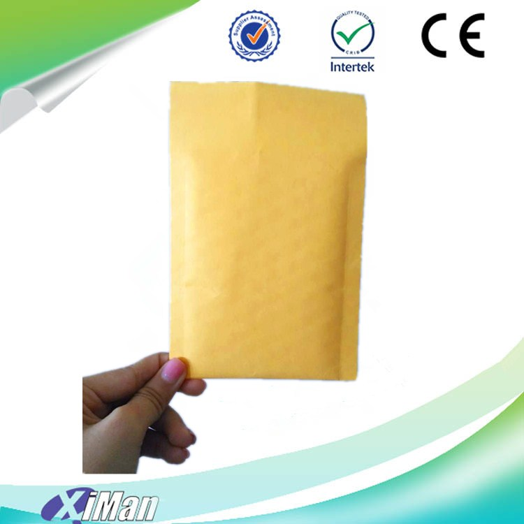 2017 best choice of kraft paper bubble envelope Hot Sale Kraft Bubble Poly Mailers with Strong Self Adhensive