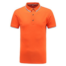 New Products Manufacturer Custom Advertising Fashion Polo neck T Shirt