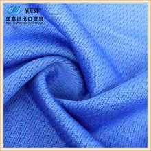 solid color face cotton bottom polyester TC mesh fabric for sportswear