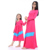 Howell knitted cotton hot pink mommy and me family new ladies dress
