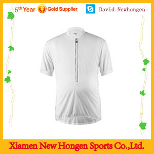 2015 new deisgn white short sleeve cycling jerseys